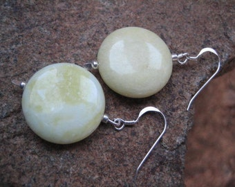 Lemon Jasper Earrings