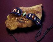 RESERVED - Midnight - Peyote bracelet