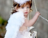 Ships in THREE days---Mommy's gift from God/Angel tutu set/Includes tutu, wings, and halo/perfect photo prop
