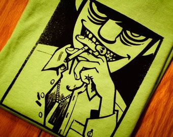 Murdoc Gorillaz Screenprinted T-Shirt