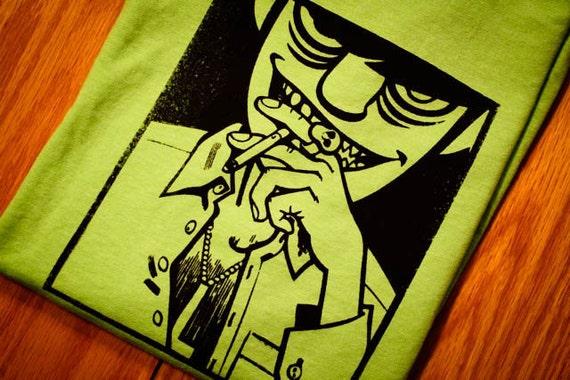 Murdoc Gorillaz Screenprinted T-Shirt