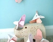 20% OFF W/Code HOLIDAY20 Origami Butterflies in Shades of Pink