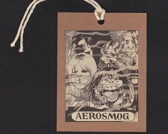 AEROSMITH Fun Caricature BOOKMARK or Gift TAG
