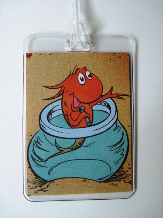 Dr seuss fish in bowl from cat in the hat recycled for Cat in the hat fish