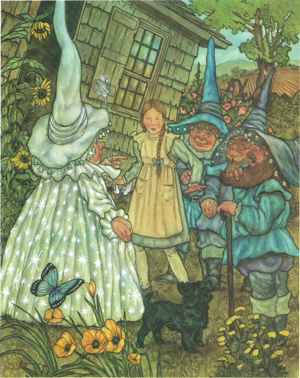 Wizard Of Oz Munchkins Vintage Book Page Great For