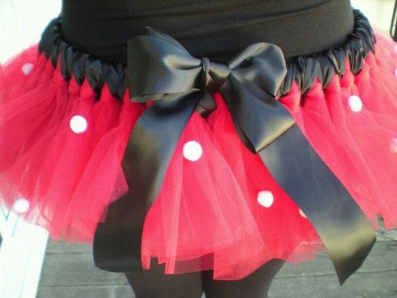 FALL SALE----------Minnie Mouse Costume Tutu for adult