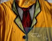 Tie Tee Medium Yellow shirt