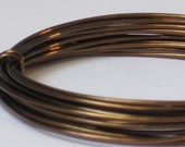 Bronze Color Jewelry Wire -- 18 gauge   (Qty 10 ft)    65-121