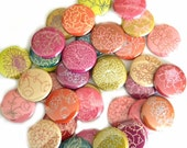 Buttons-Vintage Flora (set of 20)