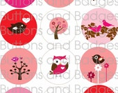 Pocket Mirrors - Valentine Critters (Set of 12) WHOLESALE PRICE