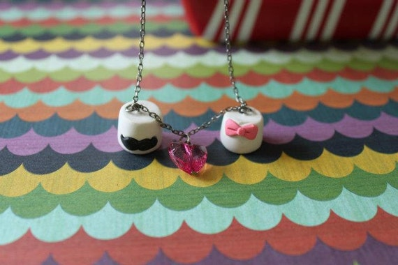 Marshmallow Love Necklace