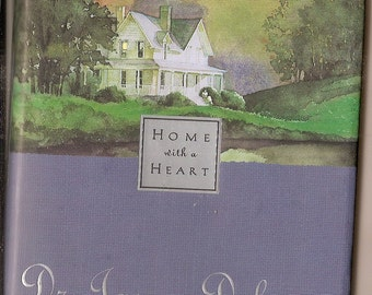 Inspirational Hardback Book, HOME with a HEART Dr. James DObson Encouragement for Families, great gift