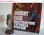 "Johnny Cash - ""Destination Victoria Station"" - Vintage Vinyl"