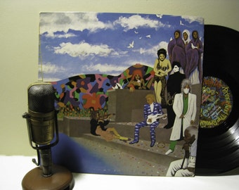 "Prince Record Album ""Around the World in a Day"" (Original 1985 WB Records featuring 'Raspberry Beret') - Vintage Vinyl"