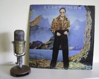 "ON SALE Elton John Vinyl Record Album 1970s British Pop Pop ""Caribou"" (1974 MCA with original inner sleeve) Vintage Vinyl"