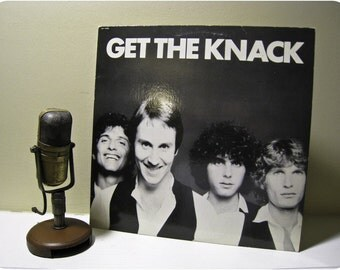 """ON SALE Vinyl Record Album, The Knack """"Get the Knack"""" (with """"My Sharona"""") (1979 Capitol EMI Records)"""
