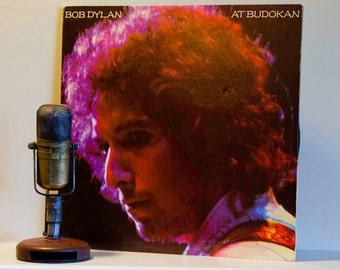 "ON SALE Bob Dylan Gatefold Vinyl 2LP Record Album ""At Budokan"" (Original 1979 Cbs Records w/""Like a Rolling Stone"", ""Blowin in the Wind"")"