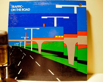 "Traffic - ""On the Road: Live in Germany"" (Original 1973 Island Records with color 'Signs' inner sleeve and ""Low Spark of High Heeled Boys"")"