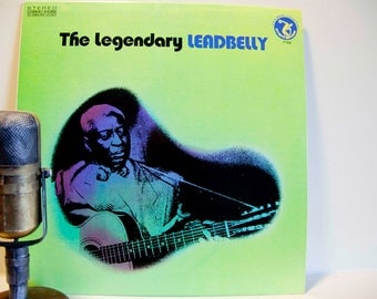 "Leadbelly LP ""The Legendary Leadbelly"" (Original 1973 Olympic/Everest Records w/ ""Midnight Special"", ""Jim Crow"", ""Keep Your Hands Off"")"