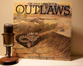 """The Outlaws - """"Greatest Hits of : High Tides Forever"""" (Original 1982 Arista Records, inner sleeve, """"Green Grass & High Tides Forever"""")"""