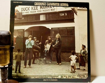 """ON SALE CCR (Creedence Clearwater Revival) - """"Willy and the Poorboys"""" (Fantasy Records w/ """"Fortunate Son"""", """"Midnight Special"""" & """"Down on the"""