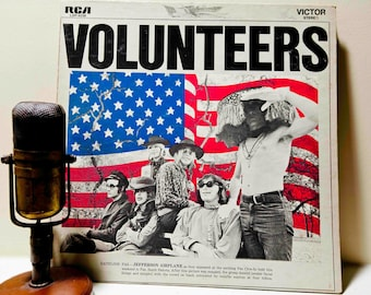"ON SALE Jefferson Airplane - ""Volunteers"" (1969 RCA Records Gatefold with title track, ""We Can Be Together"" & ""Wooden Ships)"