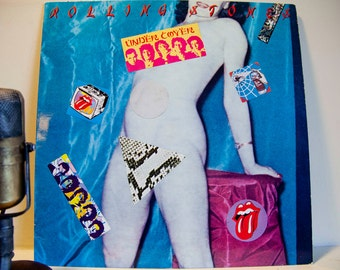 """The Rolling Stones - """"Undercover of the Night"""" (Original 1983 RS Records with color inner sleeve, title track & """"She Was Hot"""")"""