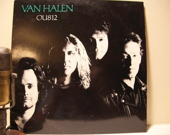 "ON SALE Vintage Vinyl LP Record Album, 'Van Halen' - ""Ou812"" (Original 1988 Wb Records with ""Finish What Ya Started"" & ""Black and Blue"")"