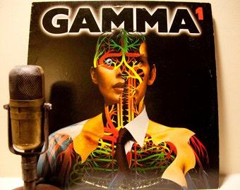 "ON SALE Vintage Vinyl Record LP Album, 'Gamma' (with Ronnie Montrose) - ""Gamma 1"" (Original 1979 Elektra Records with ""Thunder & Lightning"")"