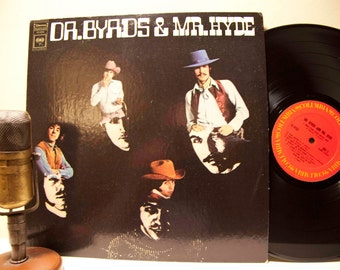 """The Byrds """"Dr. Byrds & Mr. Hyde"""" (1971 Columbia Records Re-Issue) Vintage Vinyl Record Album LP"""