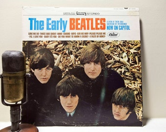 "ON SALE The Beatles Vintage Vinyl LP Record Album John Lennon, 'The Beatles' - ""The Early Beatles"" (Capitol Records re-issue w/""Twist and Sh"