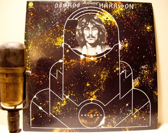 """George Harrison (The Beatles) Vinyl LP Record Album 1970s Rock """"The Best of"""" (Original 1976 Capitol Records w/""""Something"""" & """"My Sweet Lord"""")"""