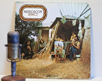 "ON SALE Kaleidoscope(w/ David Lindley) Vinyl Record Album 1970s Psychedelic Rock and Roll ""Bernice""(Original 1970 Epic Records w/""Soft and E"