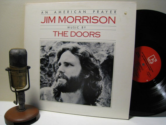 Jim Morrison The Doors Vinyl Record Album American