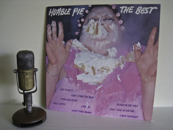 "Humble Pie - ""The Best"" (featuring Peter Frampton)  - Vintage Vinyl"