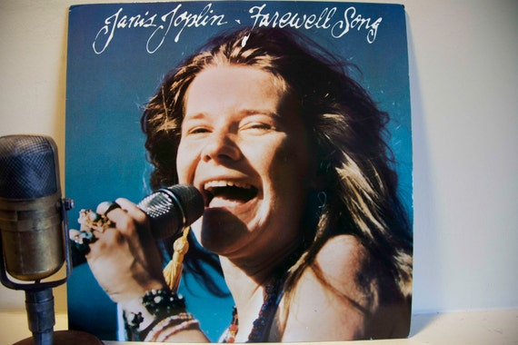 """Janis Joplin - """"Farewell Song"""" (Original 1982 Columbia Records featuring """"Tell Mama"""", """"Magic of Love"""" and more) - Vintage Vinyl"""