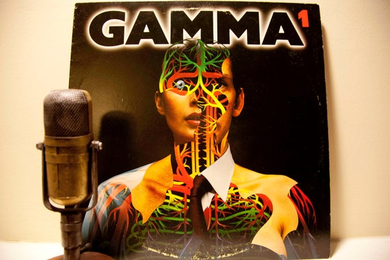 "ON SALE Vintage Vinyl Record LP Album, 'Gamma' (with Ronnie Montrose) - ""Gamma 1"" (Original 1979 Elektra Records with ""Thunder & Lightning"")"