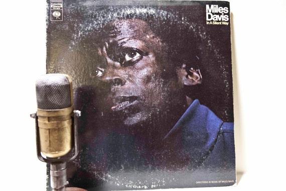 vintage vinyl lp album jazz record 39 miles davis 39 by droptheneedle. Black Bedroom Furniture Sets. Home Design Ideas