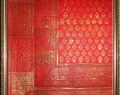 Sari 2 - Original Painting and Block Printing on Paper