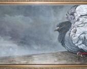 The Rain Dancer - Fine Art Print on Canvas on Stretcher Frame