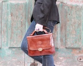 Simply Audrey handbag with strap Spanish brown simple and Classice