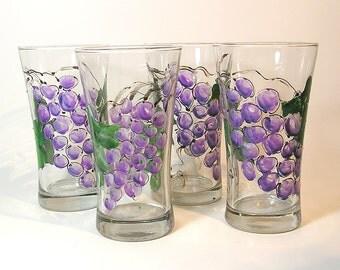 Grapevine Water Glasses