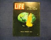Vintage Life Magazine 1968 Harvard Lampoon Parody Issue