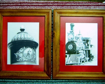 Golden Spike historical train and detail