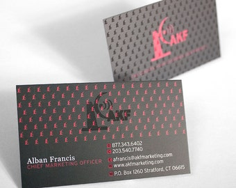 Pricing for Full Color Silk Laminated Business Cards, Calling Cards plus Upgrades