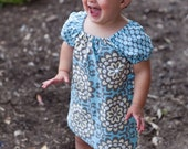 INSTANT DOWNLOAD- Janey Dress (Size 6/12 months to Size 10) PDF Sewing Pattern and Tutorial