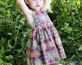 INSTANT DOWNLOAD- Raven Dress (Size 1 to 6) PDF Sewing Pattern and Tutorial
