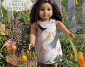INSTANT DOWNLOAD- Mayah Doll Reversible Pinafore & Bloomers PDF Sewing Pattern and Tutorial