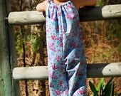 INSTANT DOWNLOAD- Summer Romper (Sizes 6/12 months to Size 6) PDF Sewing Pattern and Tutorial