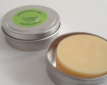 VANILLA LAVENDER  Solid Lotion Bar